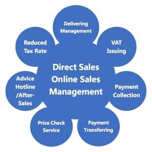 5 Direct Online Sales
